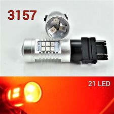 Front Signal T25 3157 3057 4157 Peformance Auto 21 SMD LED Red B1 For Dodge A