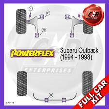 Fits Subaru Outback (1994 - 1998) Non Adjust Powerflex Complete Bush Kit