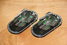 Clan Jade Falcon Carnivore Assault Tank Mechwarrior Clix figures