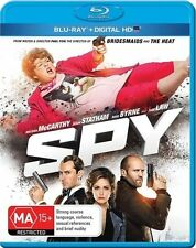 Spy (Blu-ray Only) Action, Comedy, Crime Melissa McCarthy, Rose Byrne, Jude Law