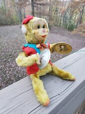 """Tumbling Monkey and Cymbal.""                Battery Operated. Non Working Japan"