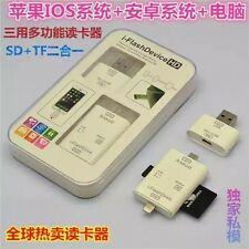 i-FlashDrive USB TF SD Card Reader For Samsung Galaxy S8 S6 edge S5 S7 Note 4 5