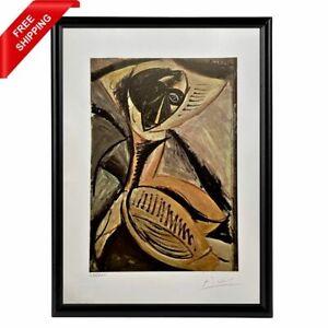 Pablo Picasso - Negro Dancer Original Hand Signed Print with COA