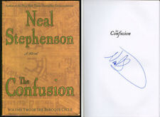 Neal Stephenson Signed Autographed The Confusion Hc 1st Ed 1st Print Brand New