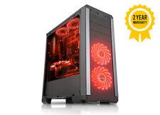 Rampage® Pulsar Black Computer Gaming Case ATX Micro ATX ITX PC Tower USB 3.0
