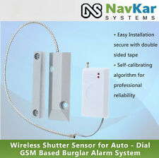 Wireless Shutter Sensor for Auto - Dial GSM Based Burglar Alarm System