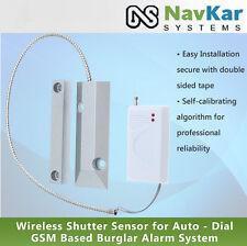 Wireless Shutter Sensor for Auto - Dial GSM Based Burglar Alarm System