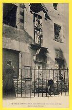 cpa 44 - VIEUX NANTES Notre-Dame de la DELIVRANCE rue des CARMES Femme en Prière