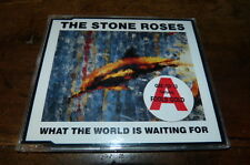 THE STONE ROSES - CD 3 titres / 3 track CD !!! WHAT THE WORLD IS WAITING FOR !!!