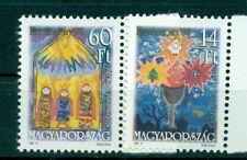 NATALE - CHRISTMAS HUNGARY 1995 Disegni Children's Art