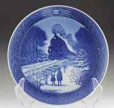 4 Royal Copenhagen Christmas Plates 1973 1974 1975 1976 EXCELLENT CONDITION