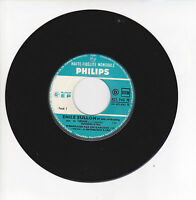 """Emile SULLON Orchestre Vinyle 45T EP 7"""" AH SI J'ETAIS... - PHILIPS 421.963 RARE"""