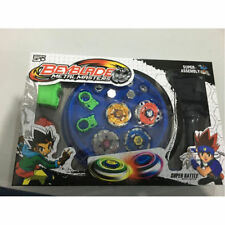 1PC Top Fusion Metal Master Fight Rapidity Rare 4D Beyblade Launcher Set Kid Toy