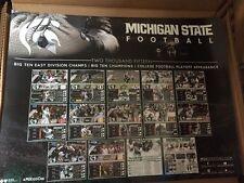 RARE 2016 Michigan State Spartans football poster MSU 2015 Big Ten Champs