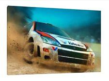 MARTINI FORD FOCUS WRC 30x20 pollici Tela Art-Colin McRae Rally foto incorniciata