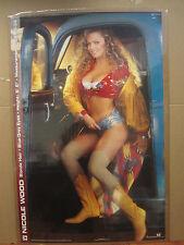vintage Nicole wood 1993  poster Hot Girl Playboy 4076