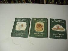 Beatrix Potter The tale Of Mrs.Tiggy-Winkle,The Tale Of Flopsy Bunnies+Appley D