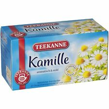 Teekanne Kamille /chamomile Tea - 20 tea bags- Made in Germany
