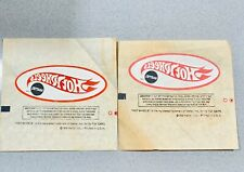 1969 Hot Wheels Club Mail In: Iron On Logo T-SHIRT Transfer Lot Of 2!