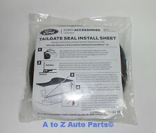 NEW 2015-2017 Ford F-150 Tailgate Rubber Dust Seal Weatherstrip, OEM