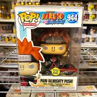 "Funko Pop Naruto : Pain (Almighty Push) Glows in the Dark #944 ""MINT BOX"""