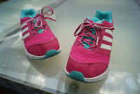 Adidas Women's Girl's Shoes Trainers Fitness Running Gr.38 UK5, 5 PINK White #6k