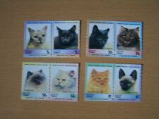 Cats Stamp Collections & Mixtures