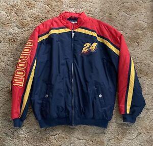 Jeff Gordon NASCARVintage 90's lined coat size XL like new, NEVER WORN!!
