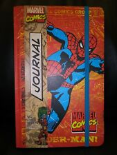 Marvel Amazing Spiderman Notebook, Journal, Diary. Hard Cover. 120 Sheets.