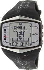 Polar Men's Heart Rate Monitor FT60F-BLK Black Rubber Quartz Watch