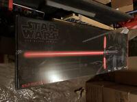 Star Wars Kylo Ren NEW Black Series Force FX Lightsaber DISCONTINUED RARE