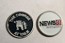 The Course At Yale , News 8 Wyndham.com 2 Sided golf ball marker