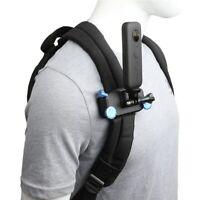 Backpack Clip Mount insta360 One X2 GOPRO 360 Camera Strap Clamp Belt Holder