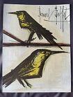 """BERNARD BUFFET  ORIGINAL LITHOGRAPH  """" BIRDS"""""""