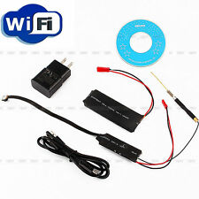 2500mah Wireless HD 1080P SPY Wifi Module Camera Video DV DVR IP P2P Recorder