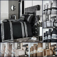 Luxurious Duvet Cover Set Designer Bedding Set Single Double Super King Size New