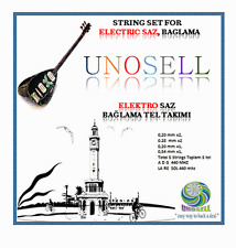 UNOSELL: STRING SET FOR  STRING INSTRUMENT LONG NECK ELECTRIC SAZ  0.20MM