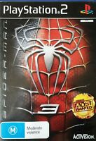 PS2 Spiderman 3 Inc Manual