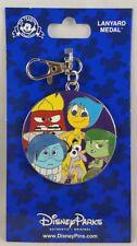 Disney Parks Inside Out Lanyard Medal Pixar Pin Trading - NEW