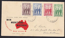 WWII 1940 Australia AIF Imperial Military Forces FDC BANKSTOWN NSW CDS