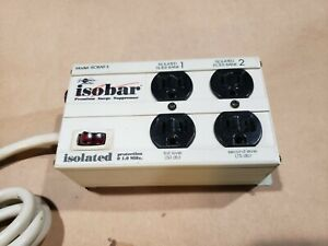 Isobar Noise filter & Surge Suppressor Isolated 1.0 MHz IB-4 Read Description