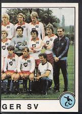 Panini Sport Superstars Euro Football 1982 - Sticker No 206 - Hamburger SV
