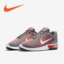 NIB NIKE Mens 11.5 AIR MAX SEQUENT 2 COOL GREY 852461 008 RUNNING SHOES $100 NEW