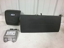 09 10 11 12 Ford Escape airbag set front driver and passenger bags module black
