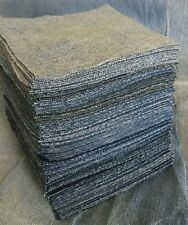 Medium Box (500) 5� Squares Denim All Blues Jeans Rag Quilt Kit Rotary Cut