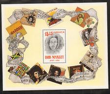 1981 Bob Marley Souvenir Sheet Stamp Jamaica Scott519 MNH Musician Reggae