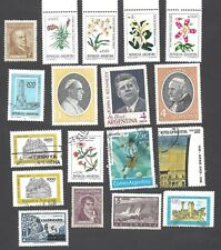 ARGENTINA - EIGHTEEN DIFFERENT MIXED STAMPS