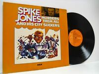 SPIKE JONES & HIS CITY SLICKERS murders them all DOUBLE LP EX/VG+, RCS 3211/1-2,