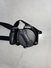 Sony Cyber-shot DSC-H50 9.1MP Digital Camera - Black