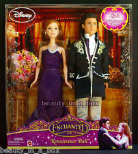 "Giselle Robert Enchanted Renaissance Ball Disney Doll Amy Adams Patrick Dempsey"""